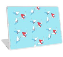 Raining Origami Laptop Skin