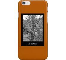 Sedona Bell Rock Vortex b&w iPhone Case/Skin