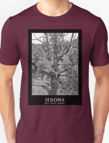 Sedona Bell Rock Vortex b&w T-Shirt