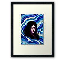Mizu Framed Print