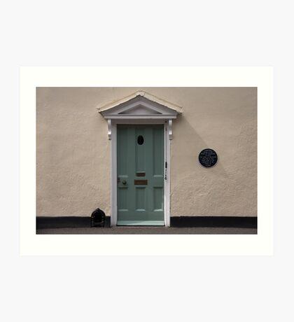 Historic door Art Print