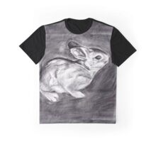 Rabbit Drawing Graphic T-Shirt