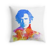 Sherlock Throw Pillow