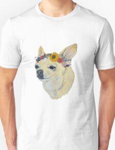 Flower Child Chihiahia T-Shirt