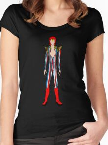 Retro Vintage Fashion 1 Women's Fitted Scoop T-Shirt