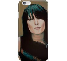 Chrissie Hynde Painting iPhone Case/Skin