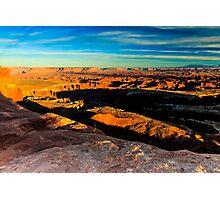 Canyonlands National Park Sunset Photographic Print