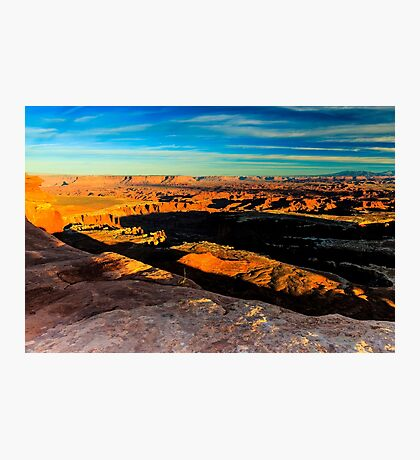 Canyonlands National Park Sunset Photographic Print