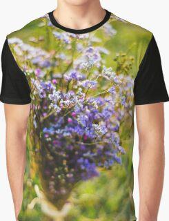 Purple Blossoms Graphic T-Shirt