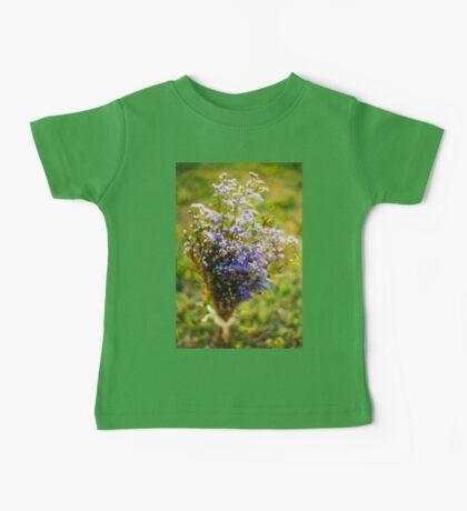 Purple Blossoms Baby Tee