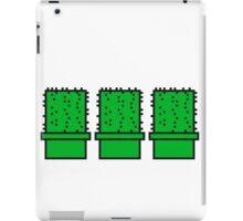 3 many pattern design pixel nerd geek gamer videogame 2d 8 bit cactus design games zocken iPad Case/Skin
