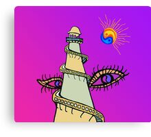 Helter Skelter Thoughts Canvas Print