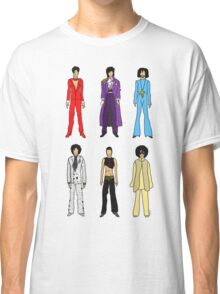 Outfits of Prince Fashion on White Classic T-Shirt