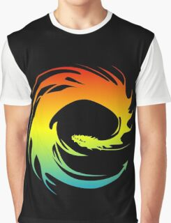 Colorful Eragon Graphic T-Shirt