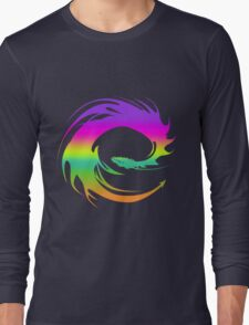 Colorful Eragon Dragon Long Sleeve T-Shirt