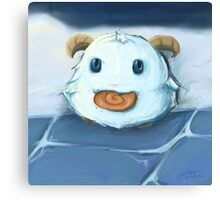 Poro Loves Snax Canvas Print