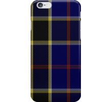 00507 Atlantic Police Academy Tartan  iPhone Case/Skin