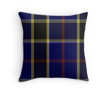 00507 Atlantic Police Academy Tartan  Throw Pillow