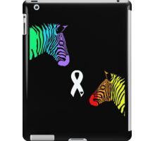 Zebras Ribbon iPad Case/Skin
