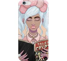 Girls read comics too! Crypt iPhone Case/Skin