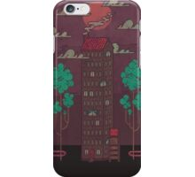 The Towering Bed and Breakfast of Unparalleled Hospitality iPhone Case/Skin