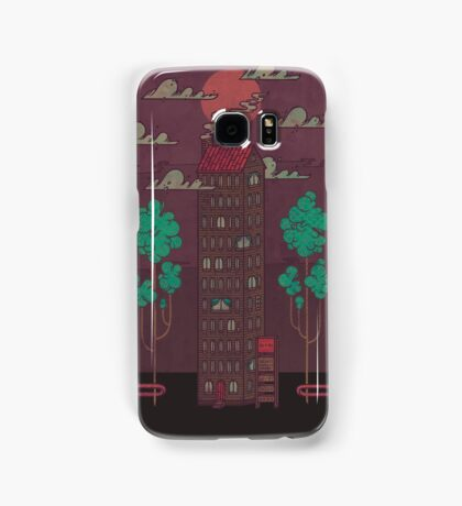 The Towering Bed and Breakfast of Unparalleled Hospitality Samsung Galaxy Case/Skin