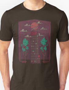 The Towering Bed and Breakfast of Unparalleled Hospitality Unisex T-Shirt