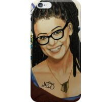 'Cosima Niehaus' from 'Orphan Black' iPhone Case/Skin