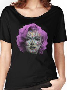 Marilyn Sugarskull Women's Relaxed Fit T-Shirt