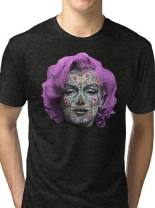 Marilyn Sugarskull Tri-blend T-Shirt