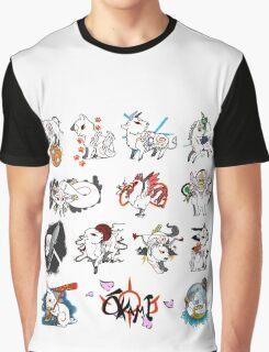 Okami brush gods Graphic T-Shirt