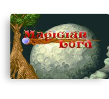 Magician Lord (Neo Geo) Canvas Print