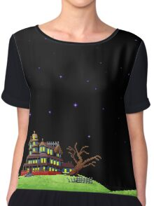 The night of the meteor 1 Women's Chiffon Top