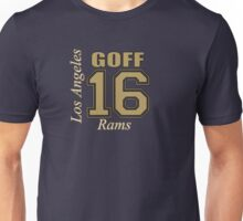 Jared Goff Los Angeles Rams  Unisex T-Shirt