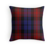 00518 Black & Red Tartan  Throw Pillow