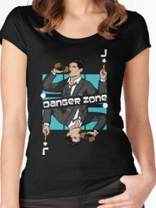 Jack DangerZone! Women's Fitted Scoop T-Shirt
