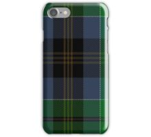 00523 Black Gold Tartan iPhone Case/Skin