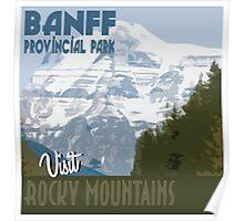 Visit Banff Poster