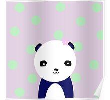 Posey, A Panda Poster