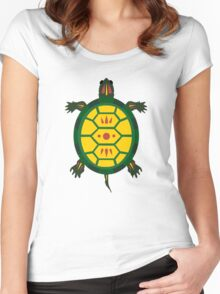 Turtle Women's Fitted Scoop T-Shirt