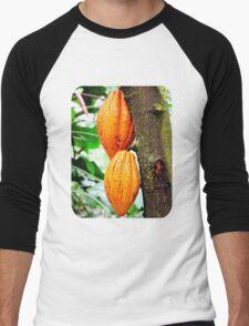 Cacao Fruit  Men's Baseball ¾ T-Shirt