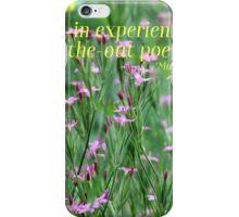 Purple Wildflower of Poets iPhone Case/Skin