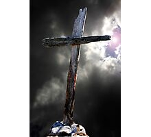 The Old Rugged Cross Photographic Print