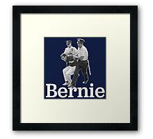 BERNIE ARRESTED! Framed Print