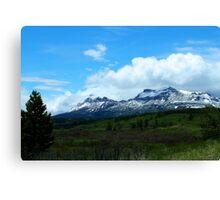 Calf Robe Mountain,  Springtime Canvas Print