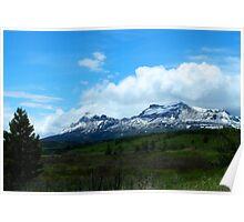 Calf Robe Mountain,  Springtime Poster