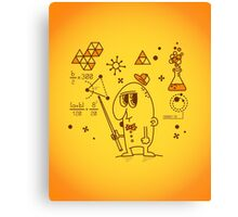 Science Canvas Print
