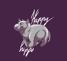 Happy hippo Unisex T-Shirt