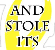 Cancer Bully (Yellow Ribbon) Sticker