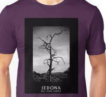 Bell Rock Vortex Sedona Arizona b&w Unisex T-Shirt